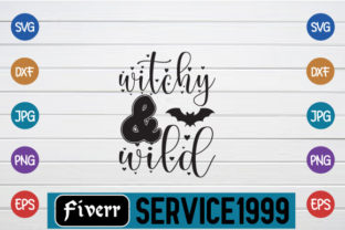 Print on Demand: Witchy & Wild Graphic Print Templates By fiverrservice1999