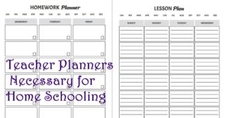 Printable Home-School Work Sheets for Moms