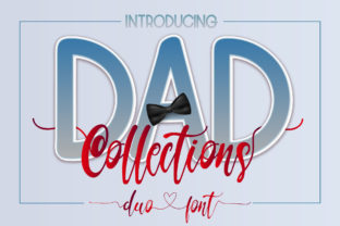 Print on Demand: Dad Collections Script & Handwritten Font By Nobu Collections