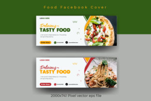Print on Demand: Restaurant Facebook Cover Design Graphic Web Templates By ietypoofficial