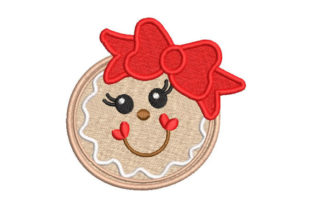 Christmas Cookie Christmas Embroidery Design By Embroiderypacks