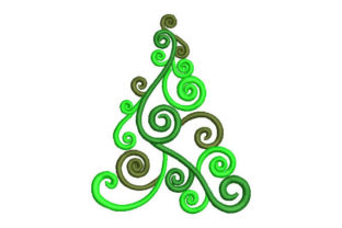 Christmas Tree Christmas Embroidery Design By Embroiderypacks