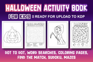 Print on Demand: HALLOWEEN ACTIVITY BOOK for KIDS Graphic Coloring Pages & Books Kids By Kids_Zone