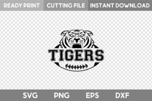 Tigers Football SVG Graphic Illustrations By acelea