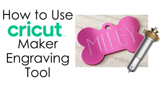 How to Use Cricut Maker Engraving Tool