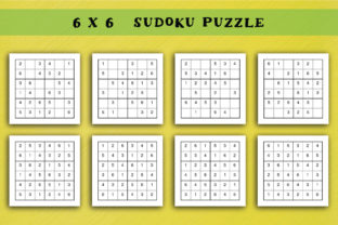KDP Sudoku Interior Easy Vol 7 Graphic KDP Interiors By Picto Graphy 3