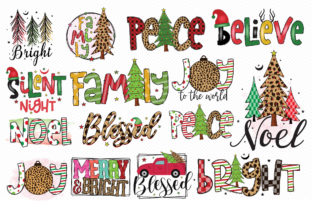 Christmas Sublimation Bundle Vol.2 Graphic Crafts By CraftlabSVG 2
