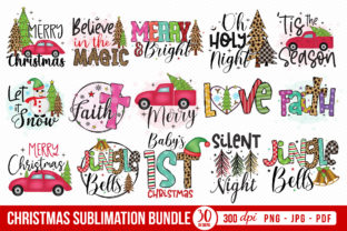 Christmas Sublimation Bundle Vol.2 Graphic Crafts By CraftlabSVG