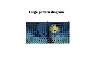 Painting Starry Night Vincent Van Gogh Graphic Cross Stitch Patterns By ArtDigitalEmbroidery 2