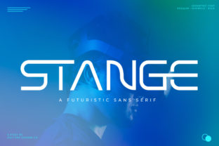 Print on Demand: Stange Display Font By vultype