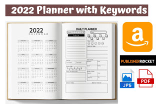 2022 Daily Planner Best KDP Interior Graphic KDP Interiors By KDP Pro Team