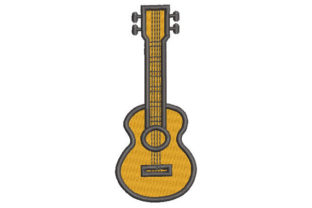 Charango Music Embroidery Design By Embroiderypacks
