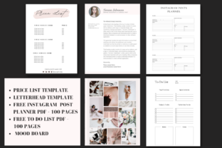Print on Demand: Complete Business Branding Kit for Canva Graphic Graphic Templates By Ayesha Design 6
