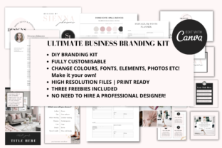 Print on Demand: Complete Business Branding Kit for Canva Graphic Graphic Templates By Ayesha Design 3