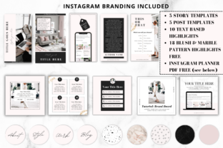 Print on Demand: Complete Business Branding Kit for Canva Graphic Graphic Templates By Ayesha Design 4