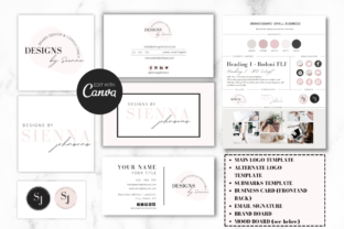Print on Demand: Complete Business Branding Kit for Canva Graphic Graphic Templates By Ayesha Design 5