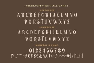 Print on Demand: Happy Holidays Display Font By HansCo 7