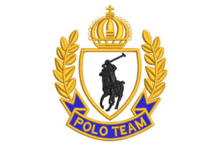 Polo Shield Sports Embroidery Design By Embroiderypacks