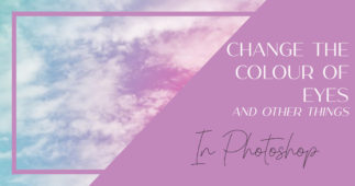 Change the Colour of Eyes in Photoshop