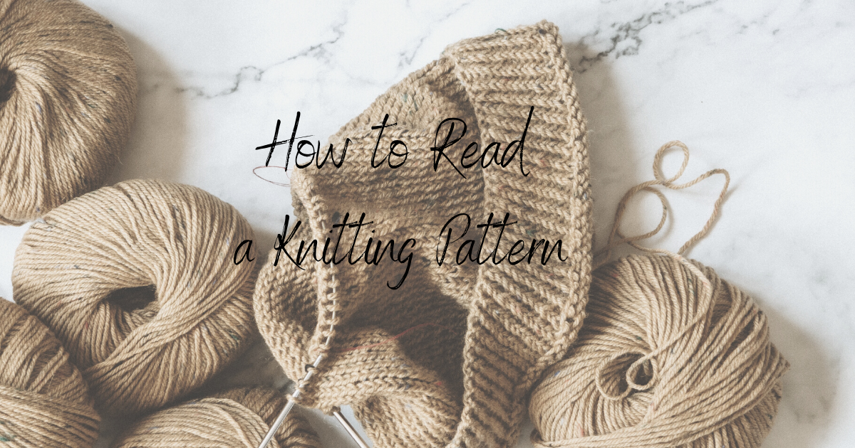 How to Read a Knitting Pattern