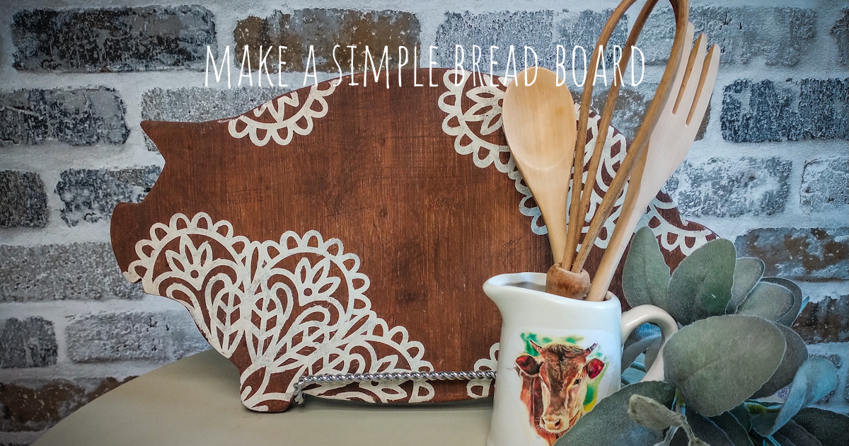 Make a Beautiful Bread Board Everybody Will Want main article image