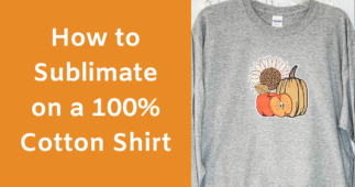 How to Sublimate on Cotton Shirts