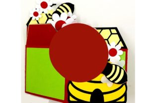 3D Beehive and Honeycomb Box Card 3D SVG Craft Cut File By Creative Fabrica Crafts 3