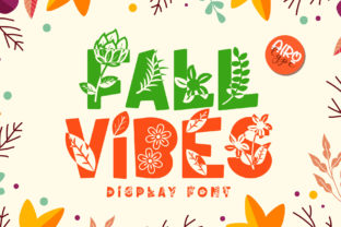 Print on Demand: Fall Vibes Decorative Font By airotype