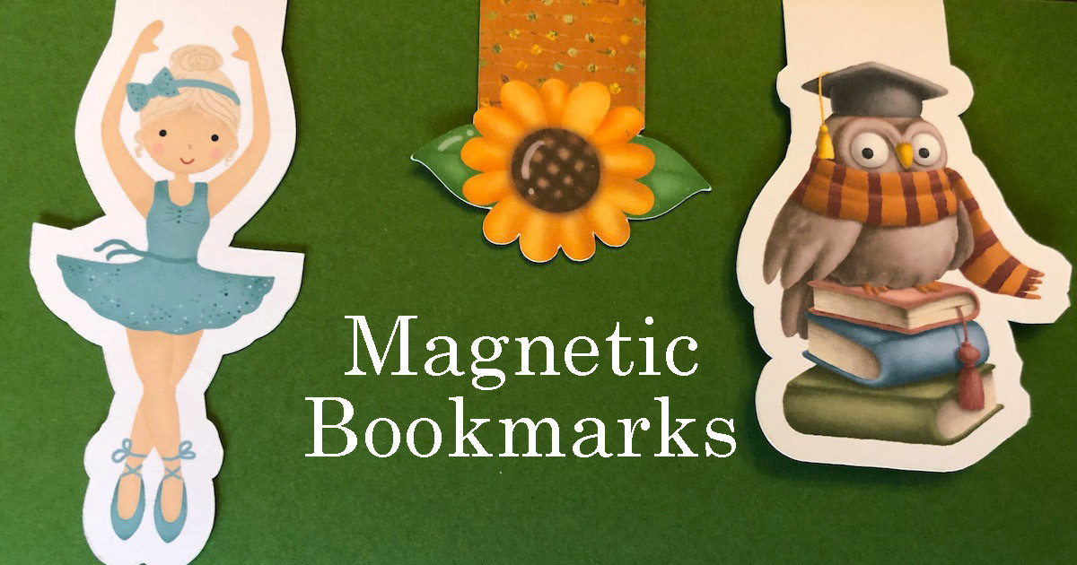 How To Create Magnetized Bookmarks