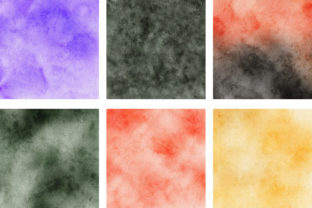 Print on Demand: Halloween Watercolor Background Texture Graphic Backgrounds By PinkPearly 3