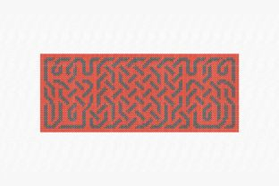 Print on Demand: Long Celtic Knot Europe Embroidery Design By Urtica Design