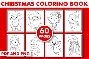 Print on Demand: CHRISTMAS ACTIVITY BOOK for KIDS Graphic Coloring Pages & Books Kids By KDP INTERIOR DESIGN