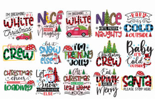 Christmas Sublimation Bundle Vol.3 Graphic Crafts By CraftlabSVG 2