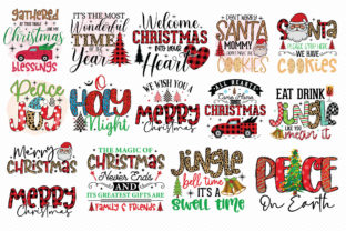 Christmas Sublimation Bundle Vol.3 Graphic Crafts By CraftlabSVG 3