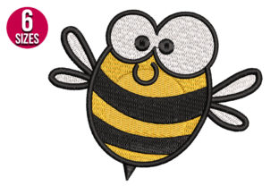 Print on Demand: Bee Bugs & Insects Embroidery Design By Nations Embroidery