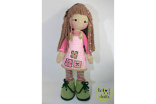 Print on Demand: Pippa Extra Large Crochet Doll Graphic Crochet Patterns By LetoDolls