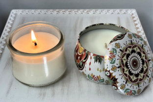 Learn to Make Soy Candles with a Cotton Wick Classes By amandatoryactivity