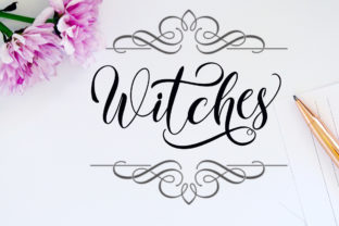 Print on Demand: Witches Script & Handwritten Font By YanIndesign