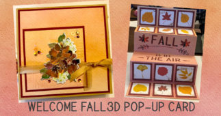 Welcome Fall with this 3D Pop-Up Card