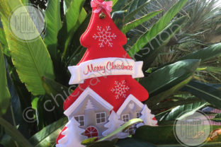 ITH Xmas Hanger Christmas Embroidery Design By CHICCAWORKSHOPSTORE 3
