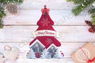 ITH Xmas Hanger Christmas Embroidery Design By CHICCAWORKSHOPSTORE 4