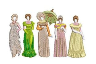 Bennet Sisters Dance & Drama Embroidery Design By Embroidery Designs