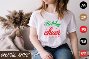 Print on Demand: Holiday Cheer Graphic Print Templates By Creative_Artist