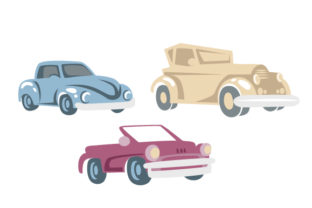 Vintage Cars Cars Craft Cut File By Creative Fabrica Crafts