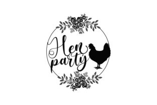 Hen Party Wedding Craft Cut File By Creative Fabrica Crafts