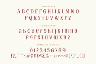Print on Demand: Little Witches Display Font By HansCo 7