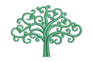 Tree of Life Forest & Trees Embroidery Design By Embroiderypacks