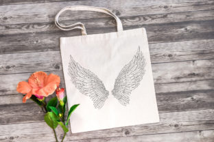 Print on Demand: 20 Feather Angel Wings Illustrustrations Graphic Illustrations By squeebcreative 2