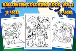 Print on Demand: Halloween Coloring Book for Kids Vol 2 Graphic Coloring Pages & Books Kids By TrendColors