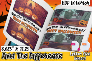 Print on Demand: KDP Halloween Find the Difference Graphic KDP Interiors By Karet Arts